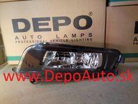 VW SHARAN 5/2010- predná hmlovka H8 Lavá / DEPO