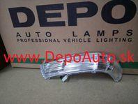 VW TOUAREG 11/02-12/06 smerovka v zrkadle Lavá