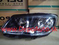 VW TOURAN 05/2010- predné svetlo H15+H7 Lavé / TYC /