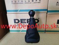 VW Touran 1/03-12/06 rukoveť riadiacej paky s kožou / 6 rýchlostná