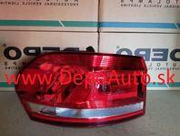 VW TOURAN 9/2015- zadné svetlo Lavé /VALEO/