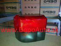 VW Transporter 9/96-02 zadné svetlo Lavé / dymová smerovka