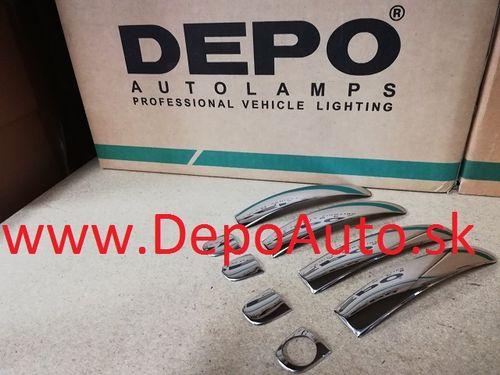 VW POLO 06/09- kryty klučiek chrómové
